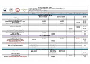 Ωρολόγιο Πρόγραμμα 2019-20